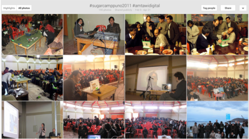 Photos pooled from participants of Sugarcamp Puno 2011.